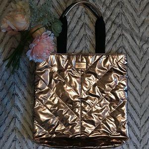 Limited Edition Rose Gold Victoria's Secret Tote